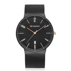 Đồng hồ nam cao cấp CURREN 8257 dây thép không gỉ