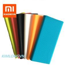 Ốp silicon Pin sạc dự phòng Xiaomi 10000 mAh gen 2S 2018 (Nhiều màu)