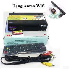 Đầu thu kỹ thuật số DVB-T2 HÙNG VIỆT TS123 Internet tặng Anten wifi