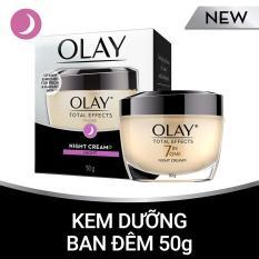 Kem dưỡng ban đêm Olay Total Effects 50G