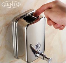 Hộp đựng nước rửa tay xà phòng nhấn treo tường inox