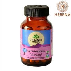 Viên uống nhân sâm Ấn Organic India Ashwagandha – hebenastore
