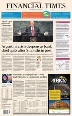 Báo giấy Financial Times – 26 September 2018