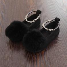 Kiểu Hàn Quốc Lông Thỏ Bé Trẻ Em Giày Bệt Giày Trẻ Em