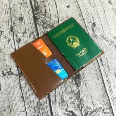 Ví đựng passport, ví đựng hộ chiếu da bò handmade – Zachi PP6