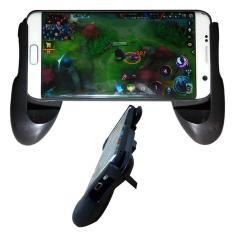 Tay cầm chơi game cho iphone kiêm giá đỡ điện thoại Game Handle (Đen)