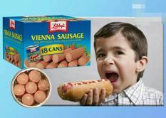 HỘP XÚC XÍCH Libbys Vienna Sausage 130g Của Mỹ