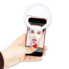 Đèn LED kẹp điện thoại hỗ trợ chụp hình Selfie