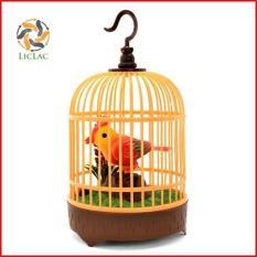 Lồng Chim Điện Tử Cảm Ứng Hót Siêu Hay ( Như Chim Thật ) sử dụng 03 pin AA – LICLAC 0538