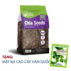Hạt chia Úc Absolute Organic 1kg mẫu mới + tặng mặt nạ cao cấp Hàn Quốc [SuPhat Shop]