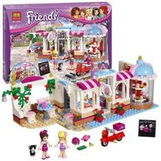 Bộ Lắp ráp mô hình friends tiệm bánh của Naomi