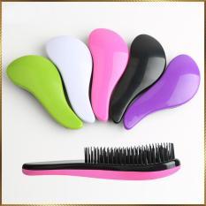 Lược nhựa chống rối tóc LR14 màu Hoa Hồng
