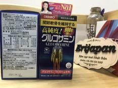 Viên uống bổ xương khớp Glucosamine 1500mg Orihiro Nhật Bản 900 viên date 2021 có bill bên cạnh