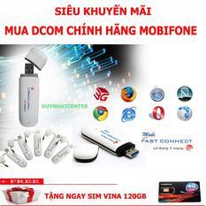 USB 3G MOBIFONE 7.2 Mbps dùng được tất cả các mạng Growntech – Tặng Kèm Siêu Sim 120GB