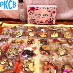 [VIP] Hộp 30 Set Gói Trà Detox hoa quả sấy khô giảm cân, DETOX KOREA Tặng bình Pongdang 1000ml (ảnh thật) – PKCB