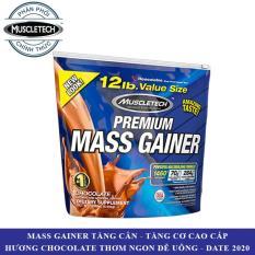 Sữa tăng cân tăng cơ Premium Mass Gainer của Muscle Tech hương Chocolate bịch 5.4 kg – Phân phối chính thức