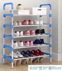Kệ giày dép khung inox 5 tầng bền đẹp