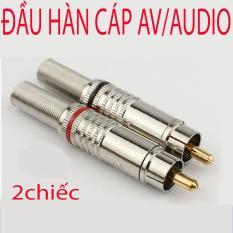 Đầu hàn jack cắm AV/Audio Video dùng cho dây loa loại to 6.0mm (1 đôi)