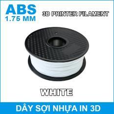 Dây sợi nhựa ABS in 3D 1.75mm 1Kg White