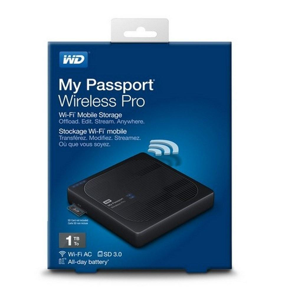 Mua Ổ cứng WD My Passport Wireless Pro- 1TB Tại TT Computer