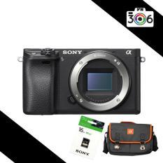 Máy ảnh Sony Alpha A6300 24MP – Body (Đen) – Tặng thẻ nhớ Sony 16GB + Túi đựng máy