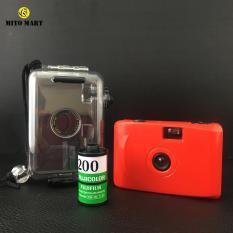 [Mã giảm giá MAYANH20] Máy ảnh du lịch mini giá rẻ tặng film