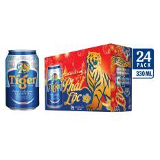 Thùng 24 lon Tiger bao bì tết