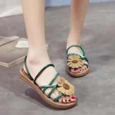 Giày Sandal Nữ đính hoa dạo biển – XS0489