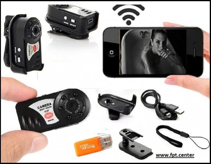 Camera mini wifi Q7 độ phân giải 1080P AMINO
