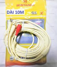 Dây cáp loa Jack 3.5 ra 2 đầu hoa sen RCA dài 10M cao cấp