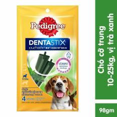 Xúc xích,Snack chó mèo PD 011 cho chó từ 10_25kg vị trà xanh
