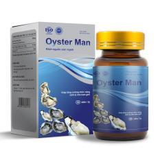 Thực phẩm chức năng tăng cường sinh lý nam giới Oyster Man 100% Thiên Nhiên (Hộp 30 Viên)