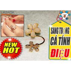 Trang sức thời trang Nhẫn nữ hai cánh hoa (aichacha shop)