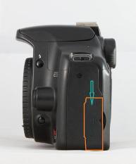 Cao su USB Canon EOS 500D (EOS Rebel T1i / EOS Kiss X3)