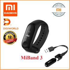 Vòng đeo tay Xiaomi MIBAND 3 – Hàng DiGiWorld