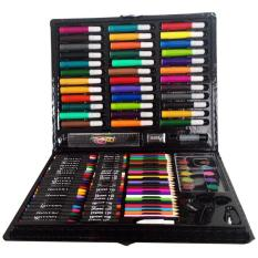 Bút Chì Màu Marco, Hộp Chì Màu, Bộ màu vẽ nhiều chi tiết -bộ bút màu có 150 món gồm 36 màu nước, 24 chì màu, 24 màu dầu (có ngòi vẽ), 24 sáp màu, 12 phấn màu nước, các công cụ khác-BH 1 tháng