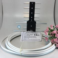 Ăng ten tivi thu sóng DVB T2 – kèm dây 15m