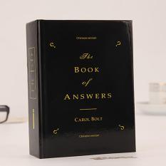 The BOOK of ANSWERS (Sách đáp án) V.2 (Màu Đen)