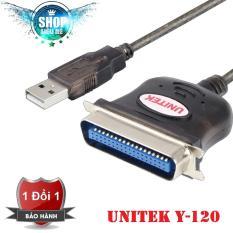 Cáp chuyển đổi USB sang LPT Unitek Y-120(Đen)