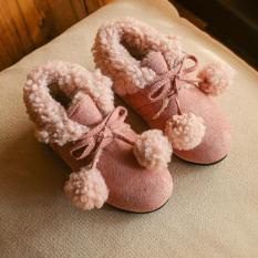 Lót Bông Dày Giày Dày Bốt Cổ Ngắn Boot Đi Tuyết