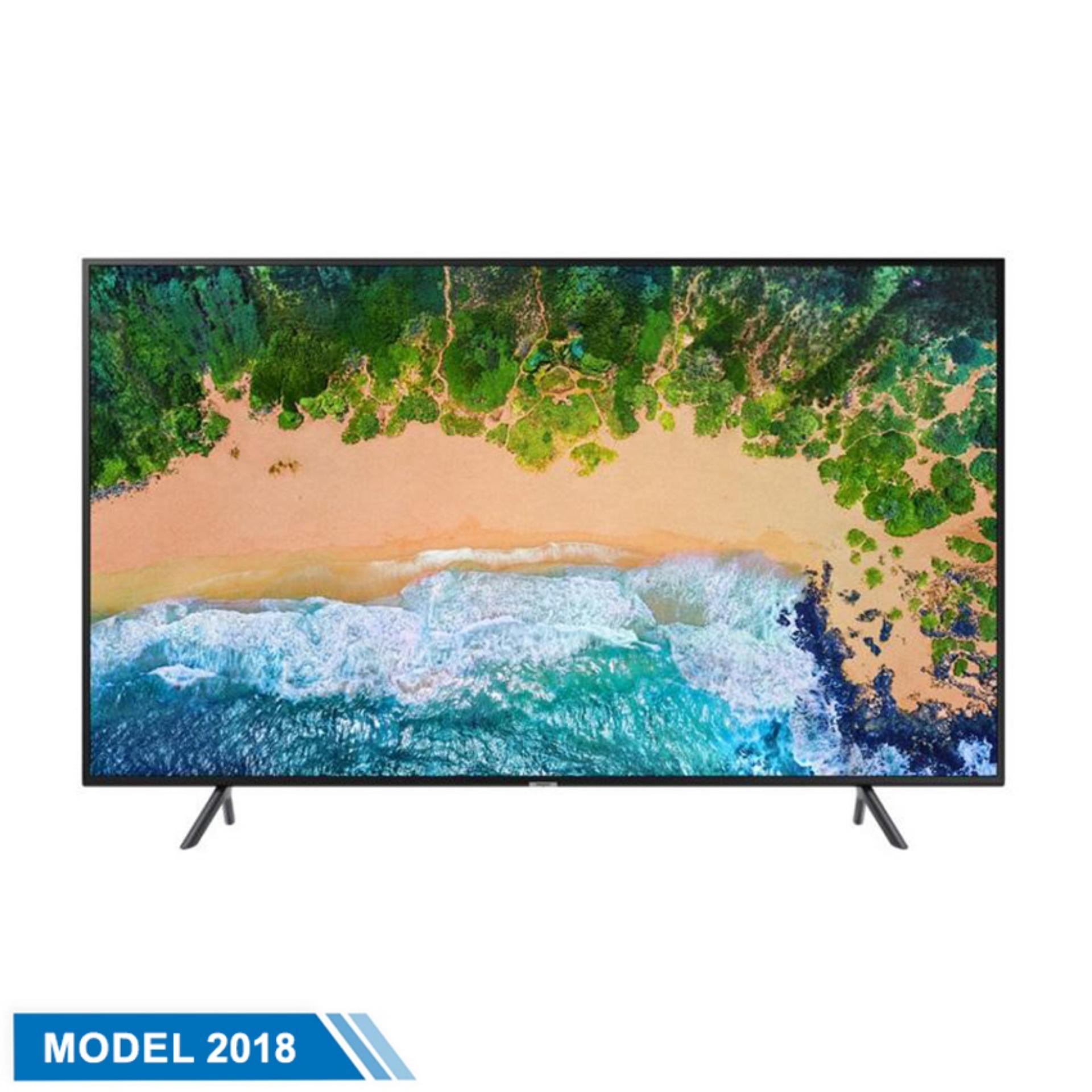 Smart TV Samsung 43inch 4K Ultra HD - Model UA43NU7100KXXV (Đen) - Hãng phân phối chính thức