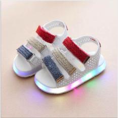 Sandal đèn nháy cho bé trai, bé gái D030