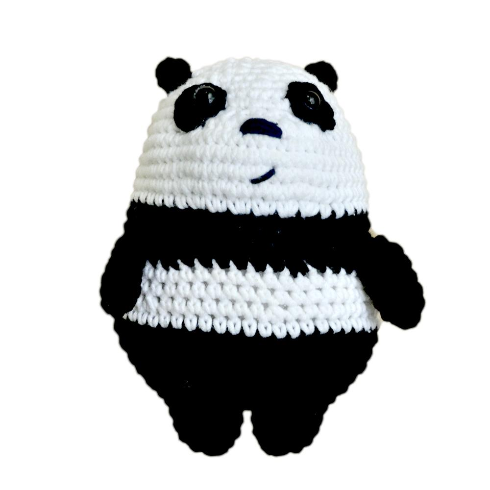 Thú Bông Móc Len Latin Handmade - GẤU TRÚC Anh Em Nhà Gấu We Bare Bear.