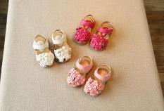 Sandal bé gái mẫu hoa size 21-30