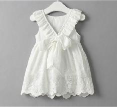 Mẫu váy nơ cực yêu dành cho bé