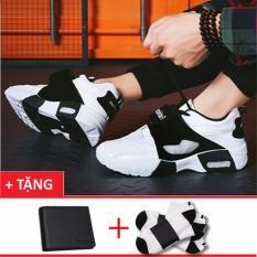 Giày thể thao nam thiết kế mới +Tặng 1 ví da+2 đôi tất T1302TR