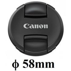 Nắp đậy ống kính Lens Cap Canon Size 58mm