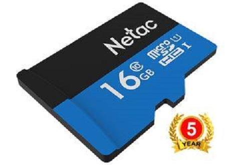 Thẻ nhớ MicroSD 16Gb Netac class 10 BH 60 tháng