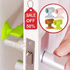Combo 4 chặn cửa ngăn sập và trầy tường,giảm tiếng ồn
