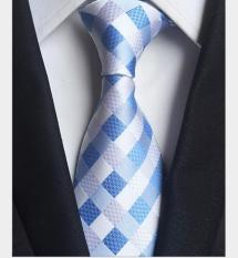 Cà vạt nam đẹp FITTOP CAVAT-001 xanh dương